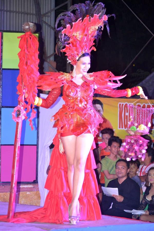Senhorita Daliao 2014 fotografia de stock royalty free