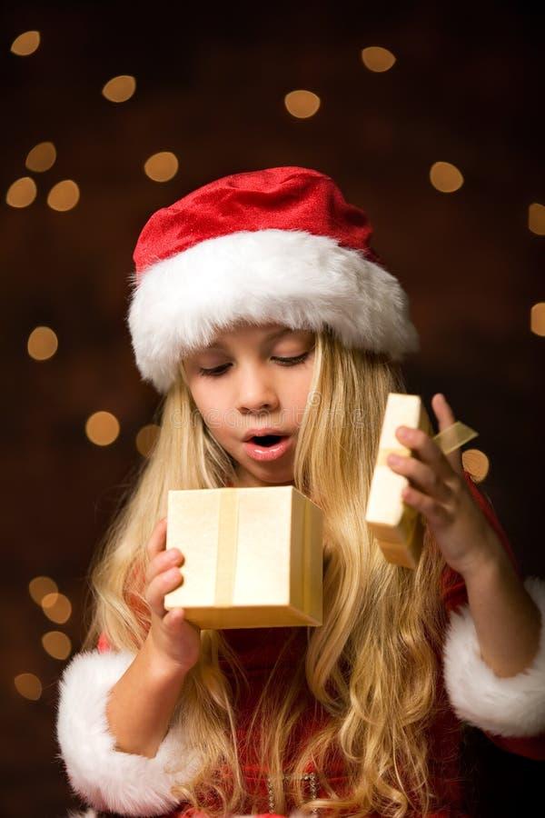 Senhorita Santa imagens de stock royalty free