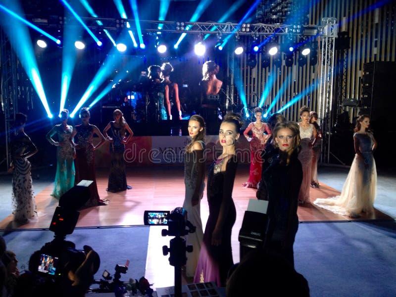 Senhorita Yalta 2016 da competição de beleza imagem de stock royalty free