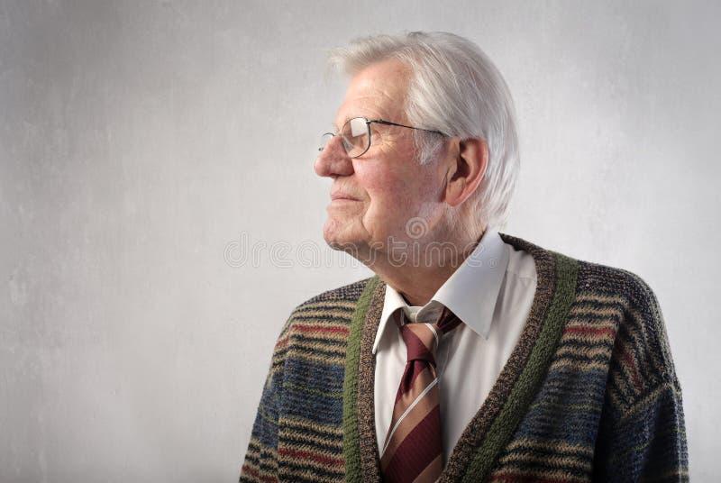 Senior stock photo