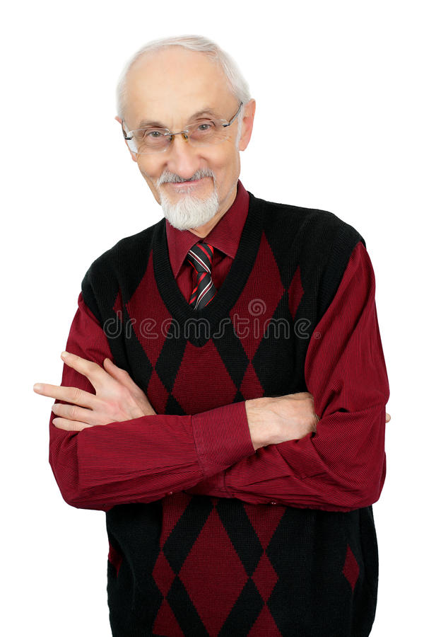 Download Senior stock photo. Image of head, gray, positivity, toothy - 28058474