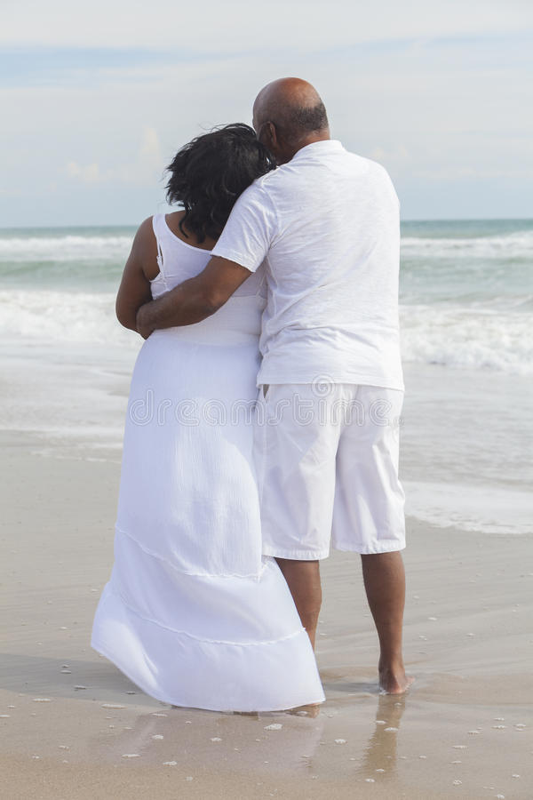 Download Senior African American Couple On Beach Stock Image - Image of romance, senior: 27757343