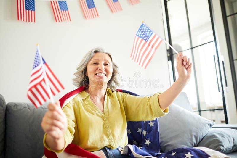Senior American Woman royalty free stock photo
