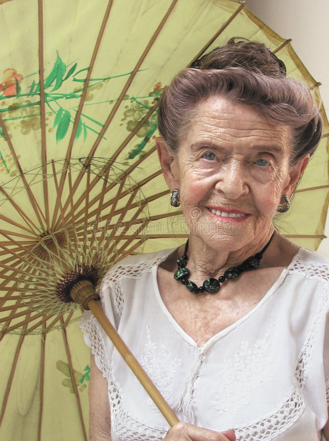 Senior beauty royalty free stock image