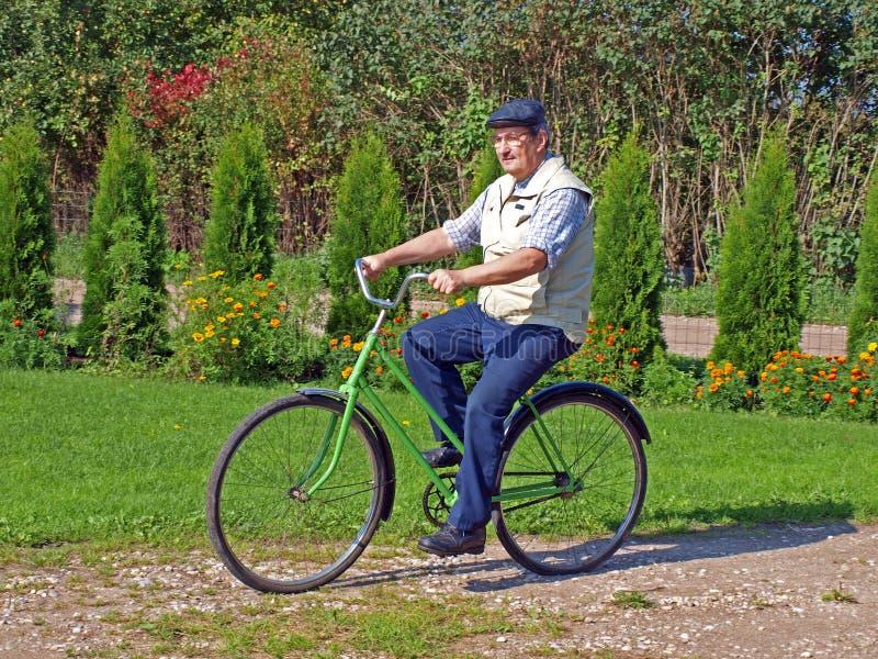 Senior Biking 3 Royalty Free Stock Photography