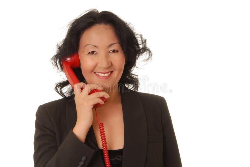 senior bizneswomanu zdjęcie stock