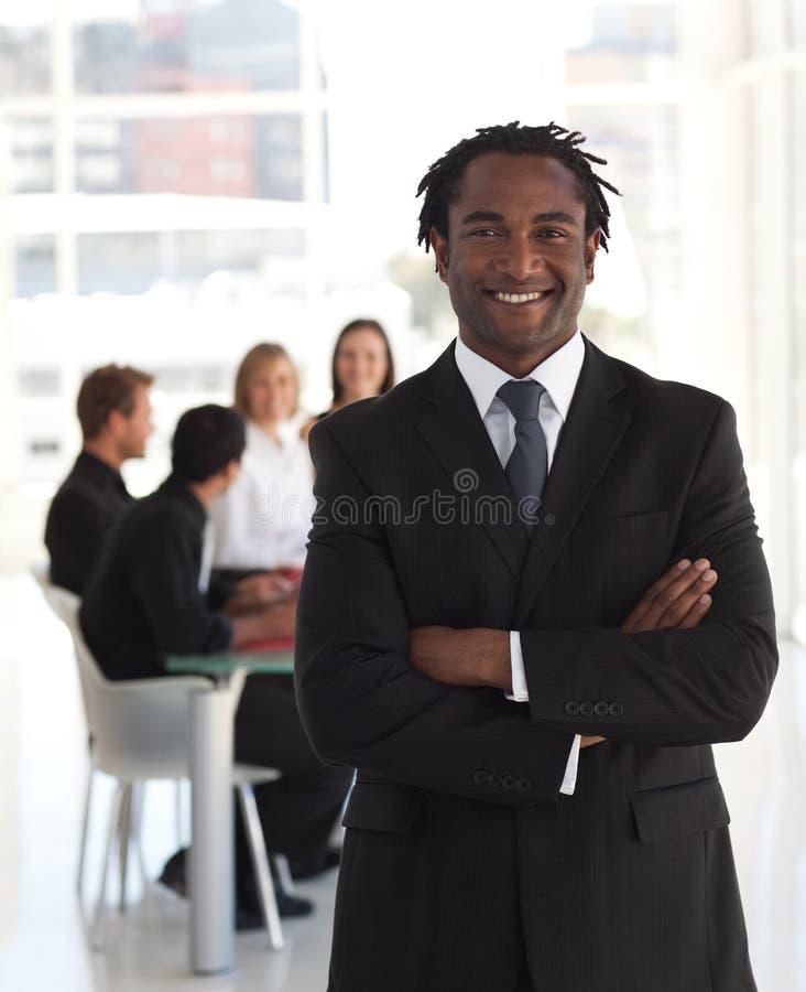 Senior business leader royalty free stock photo