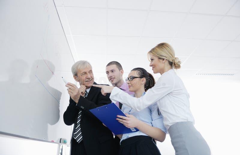 Download Senior Business Man Giving A Presentation Stock Photo - Image: 23624590