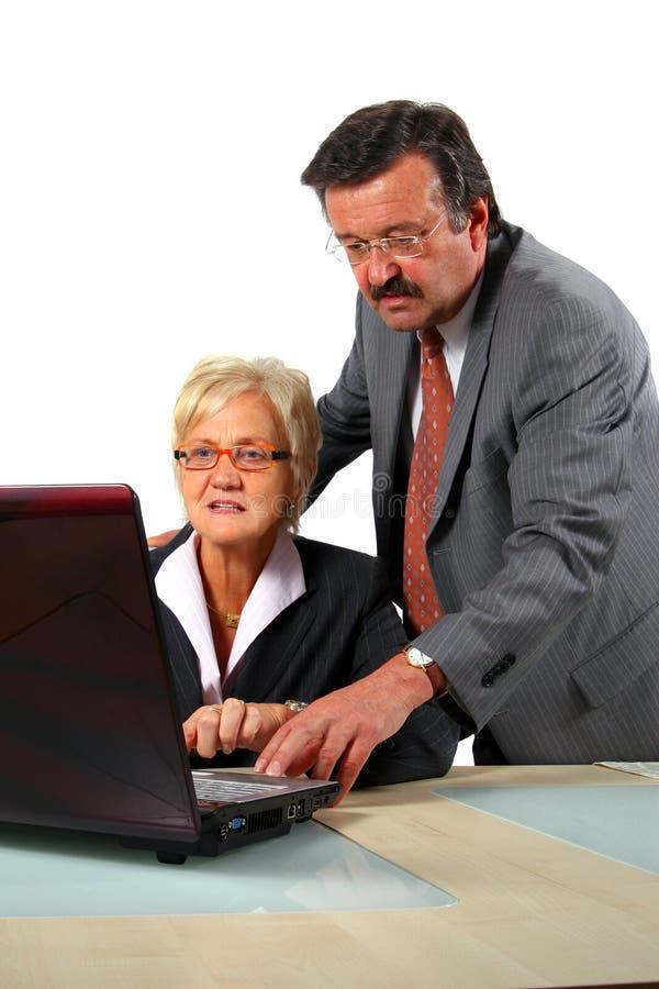 Senior Business People stock photos