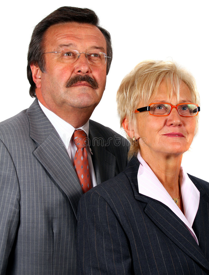 Download Senior Business Team Looking Into The Future Stock Photo - Image: 6952950
