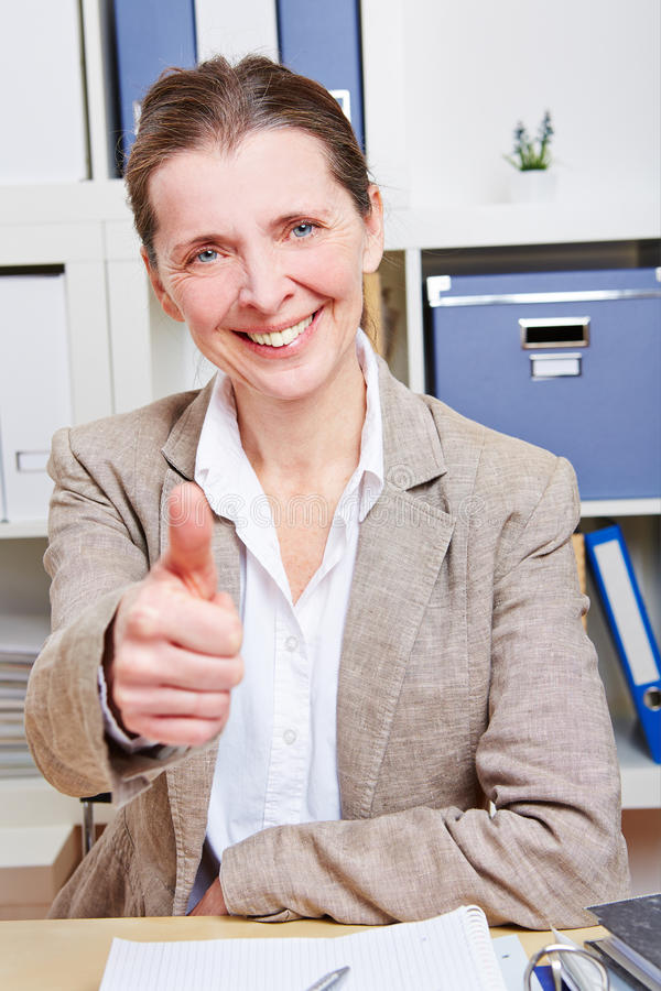 Download Senior Business Woman Holding Stock Photo - Image: 29569908