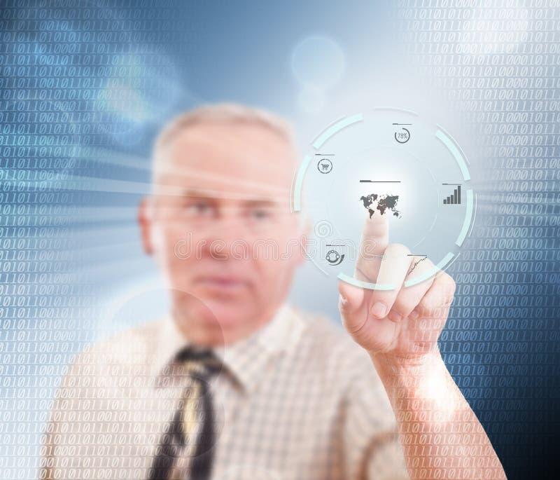 Download Senior businessman stock illustration. Image of people - 27527962