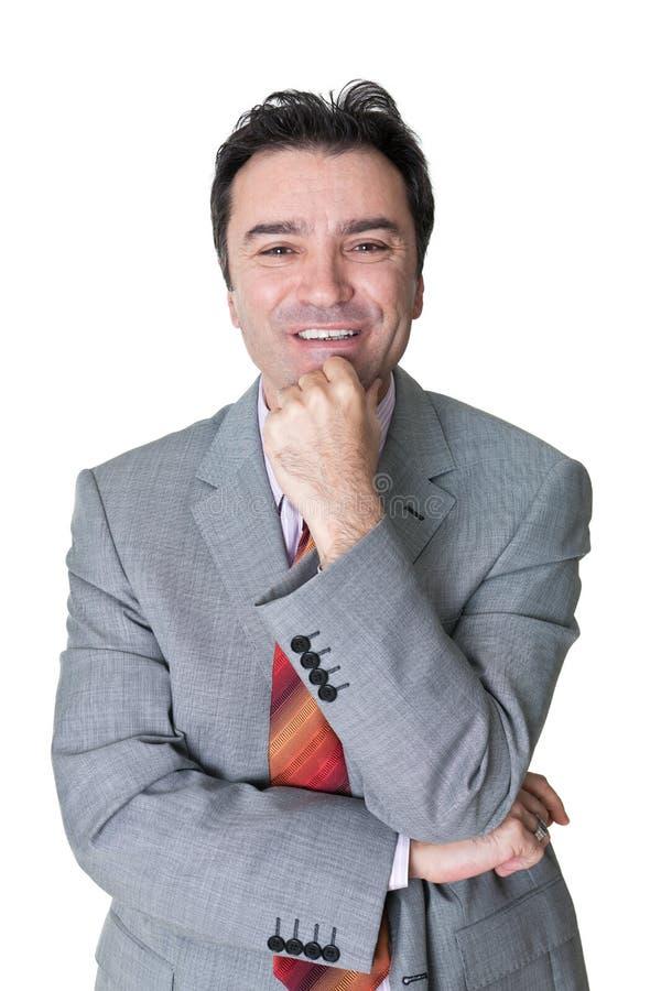 Download Senior businessman stock image. Image of meeting, people - 28341705
