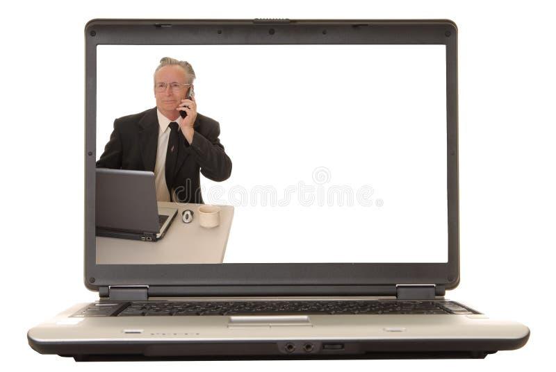 Senior Businessman 31 royalty free stock images