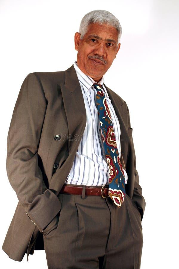 Senior Businessman stock photos