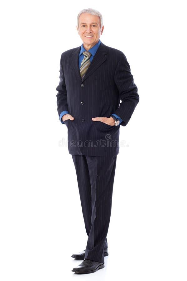 Download Senior Businessman stock image. Image of confidence, caucasian - 33286853