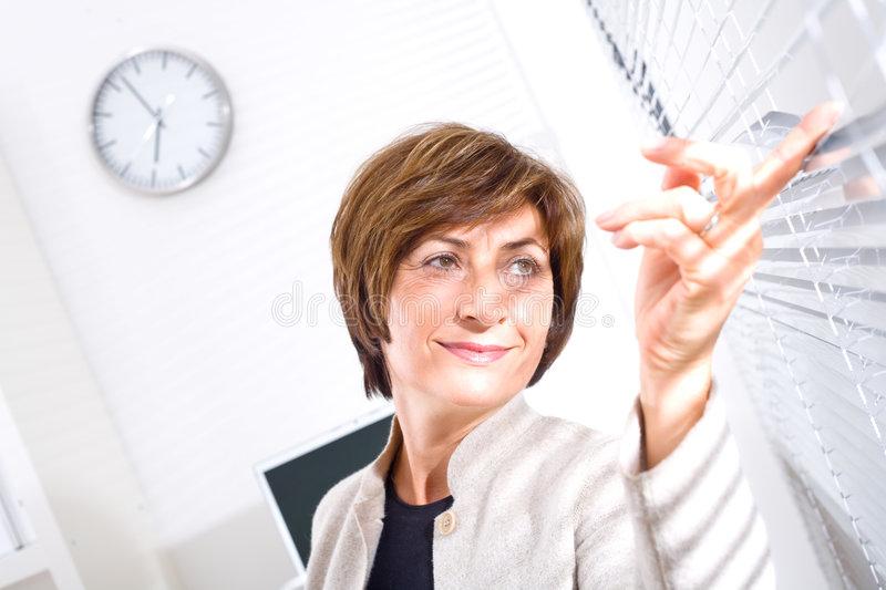 Senior Businesswoman stock images