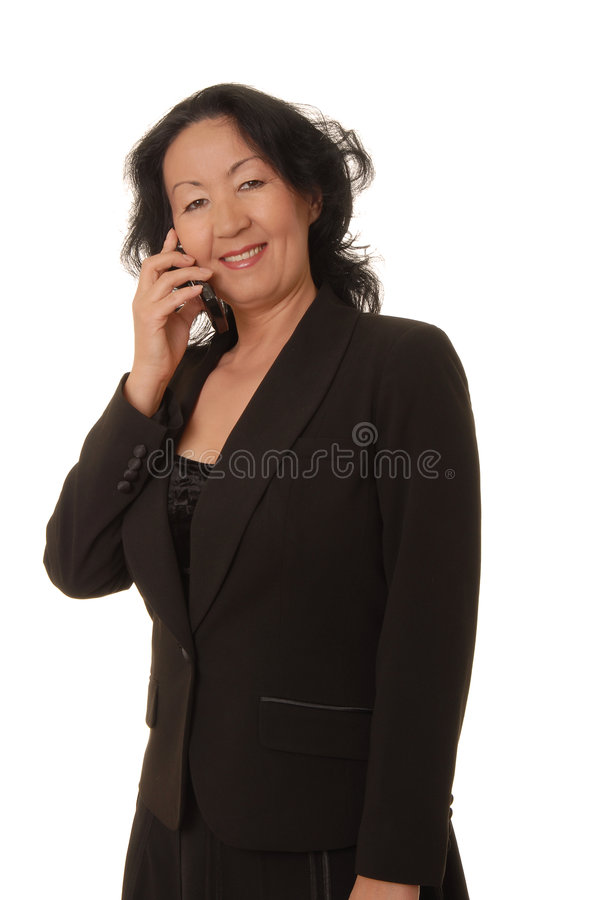 Senior Businesswoman 6 royalty free stock images