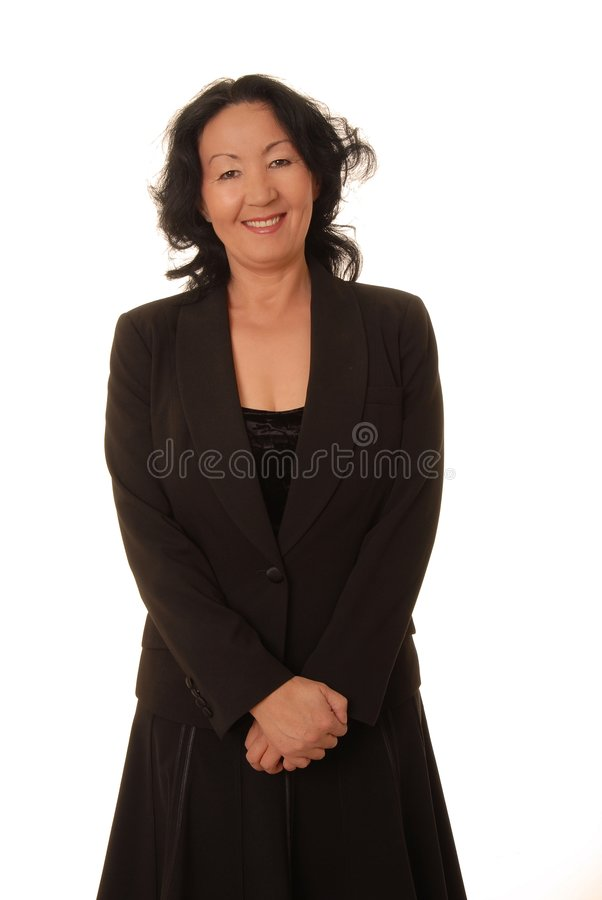 Senior Businesswoman 6 royalty free stock photography