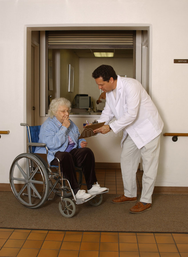 Free Senior Check-in Stock Photo - 981140