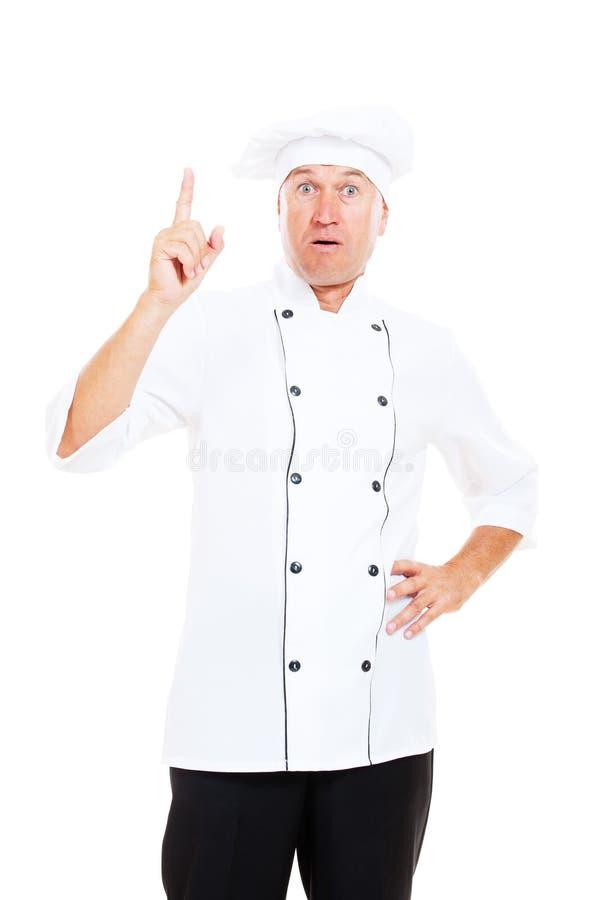 Download Senior chef have a idea stock photo. Image of mature - 21345538