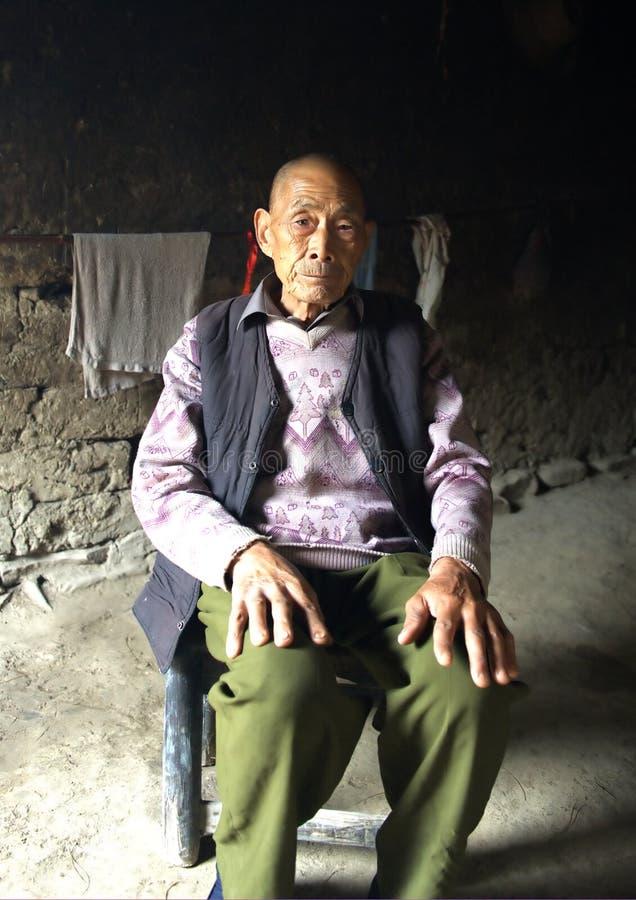 Download Senior Chinese Man stock image. Image of lifestyle, expression - 14853735