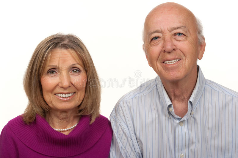 Senior Citizen Couple royalty free stock image