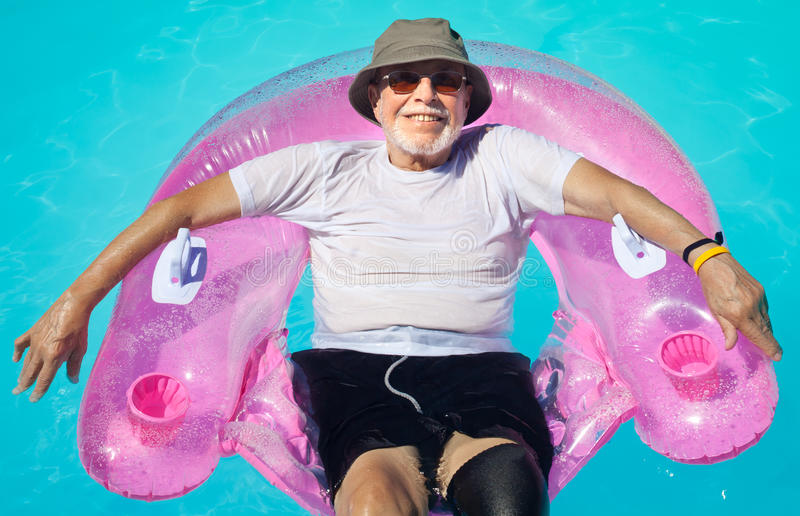 Download Senior citizen relaxing stock image. Image of mature - 18689083