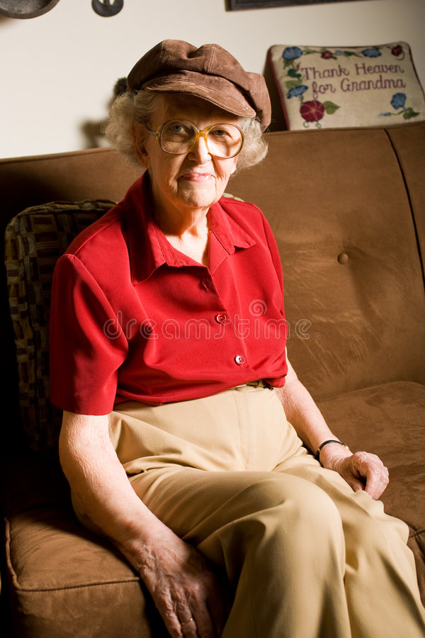 Senior Citizen Woman royalty free stock photos