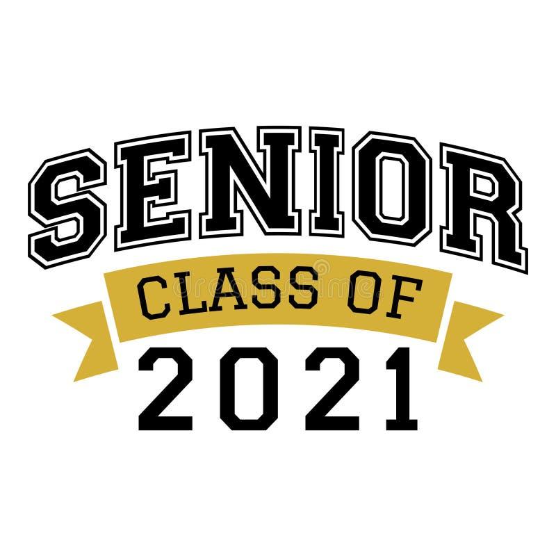 Free Senior Class Of 2021 Of Graduation Vector Royalty Free Stock Photos - 217670378