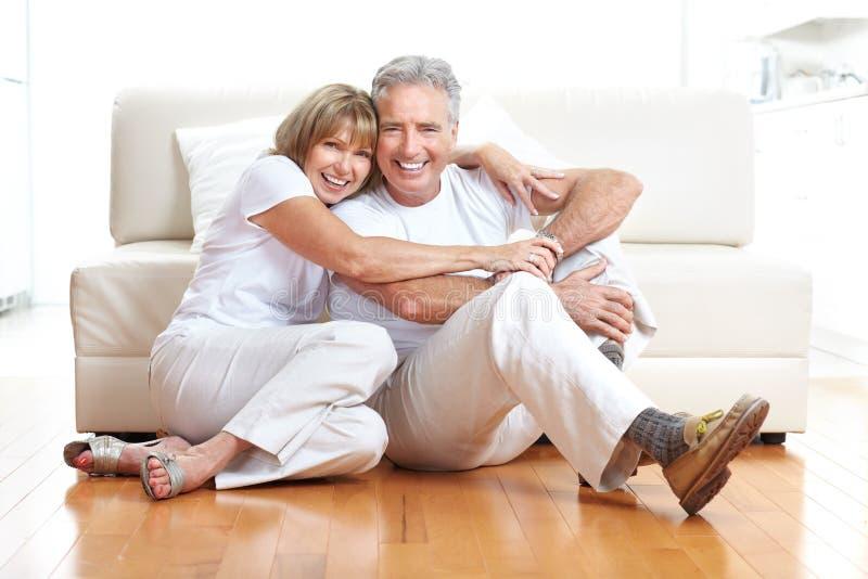 Senior couple stock images