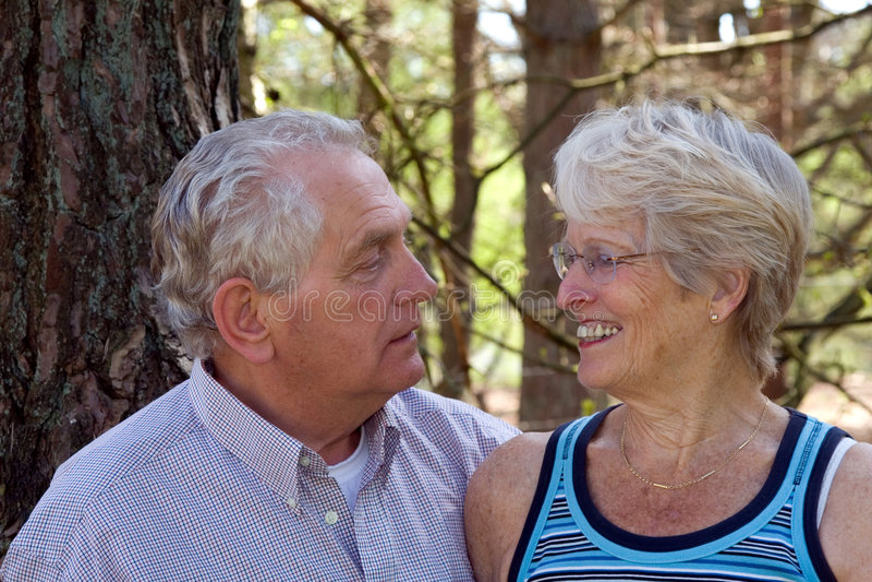 Download Senior couple stock image. Image of woman, smile, grey - 2312455