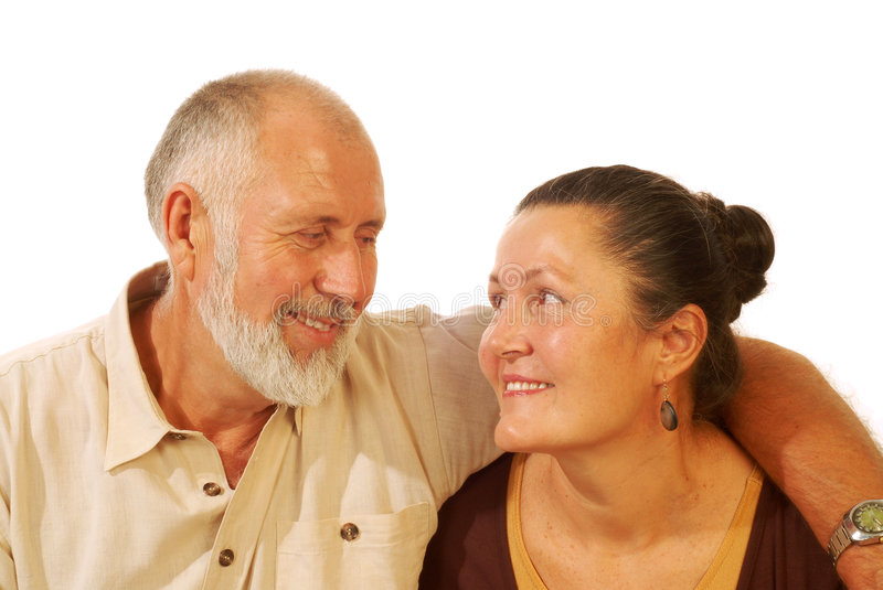 Download Senior couple stock photo. Image of love, friends, golden - 3426690