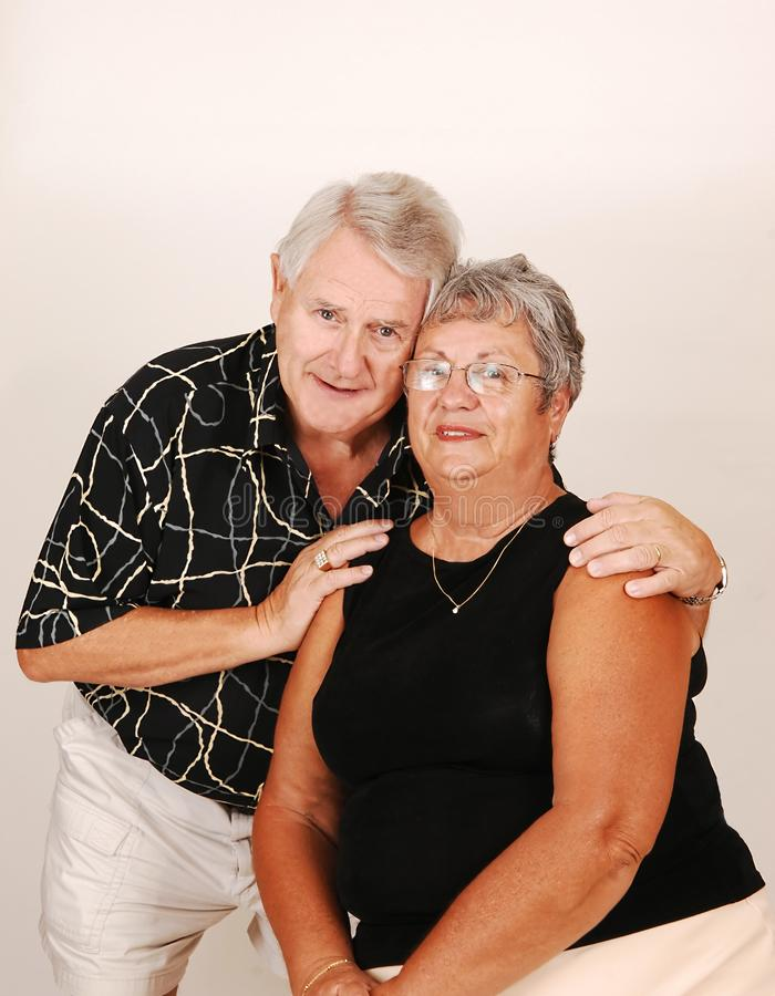 Senior couple. stock photography
