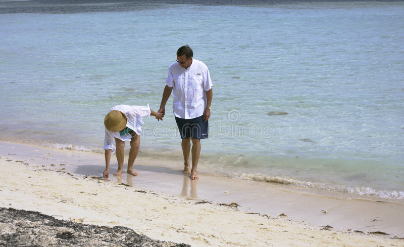 Download Senior couple on beach stock image. Image of happy, bahamas - 4593941