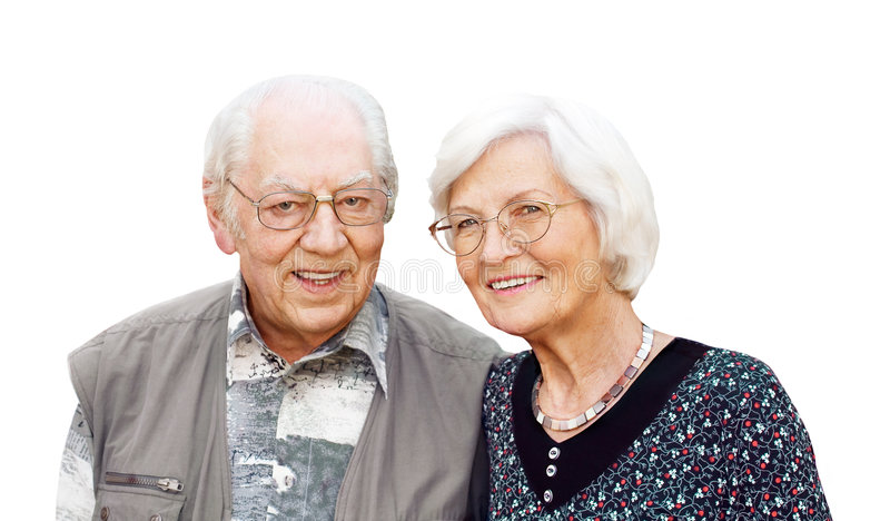 Download Senior Couple With Eyeglasses Stock Photo - Image: 9081608