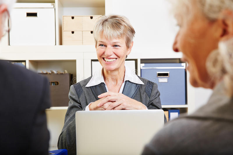 Download Senior Couple Getting Financial Stock Photo - Image of retiree, communication: 38206710