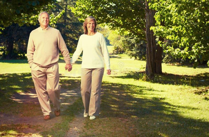 Senior couple. royalty free stock image
