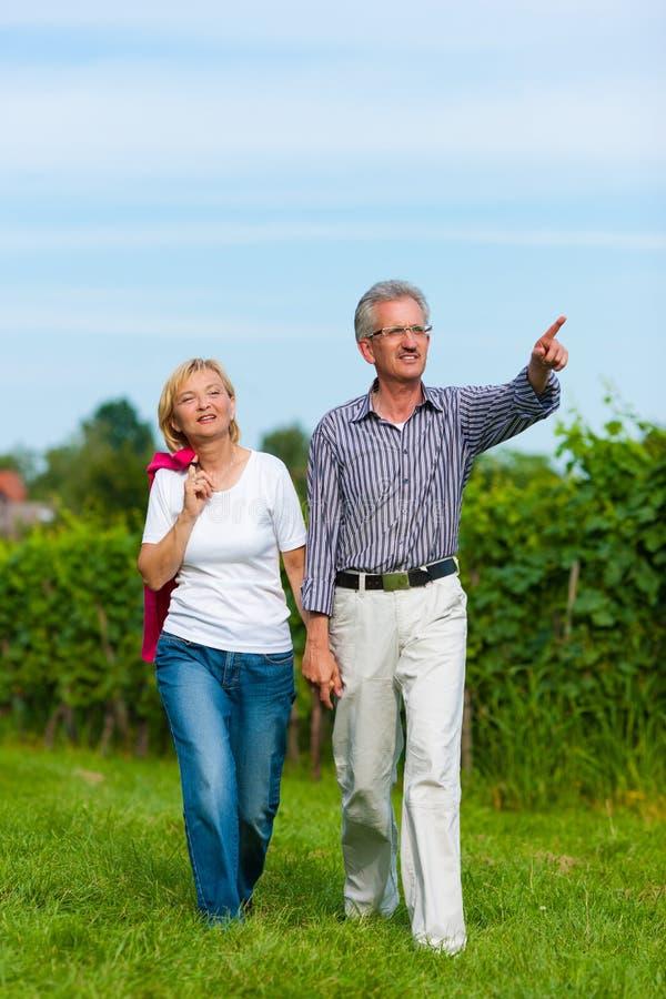 Download Senior couple having walk stock image. Image of senior - 19244145