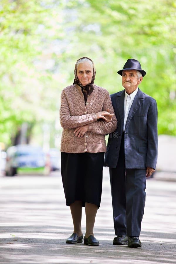 Senior Couple Lifestyle Stock Images
