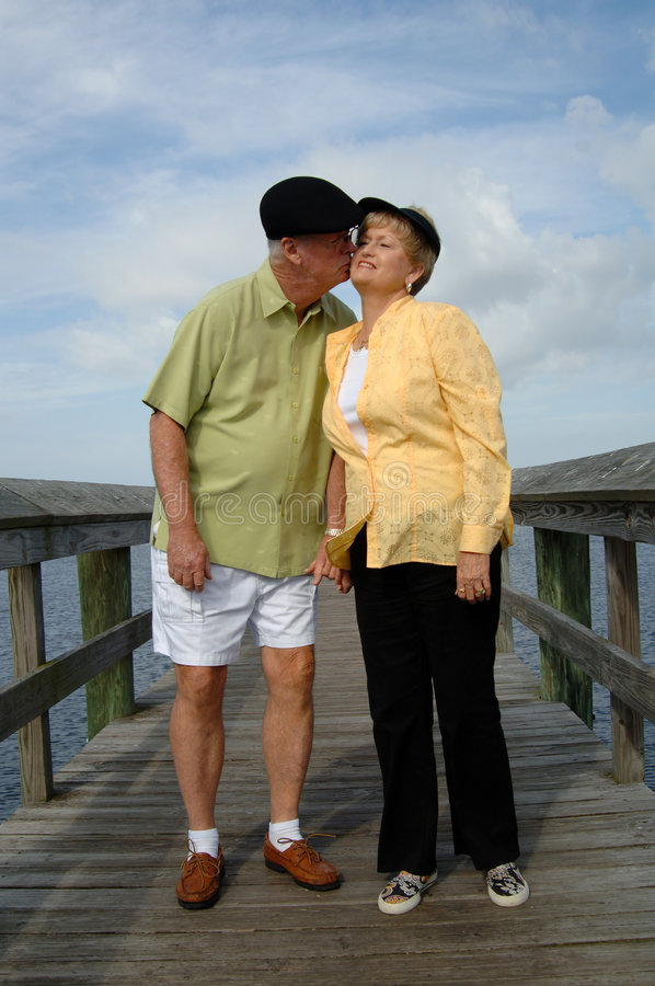 Download Senior Couple In Love Stock Image - Image: 7616401