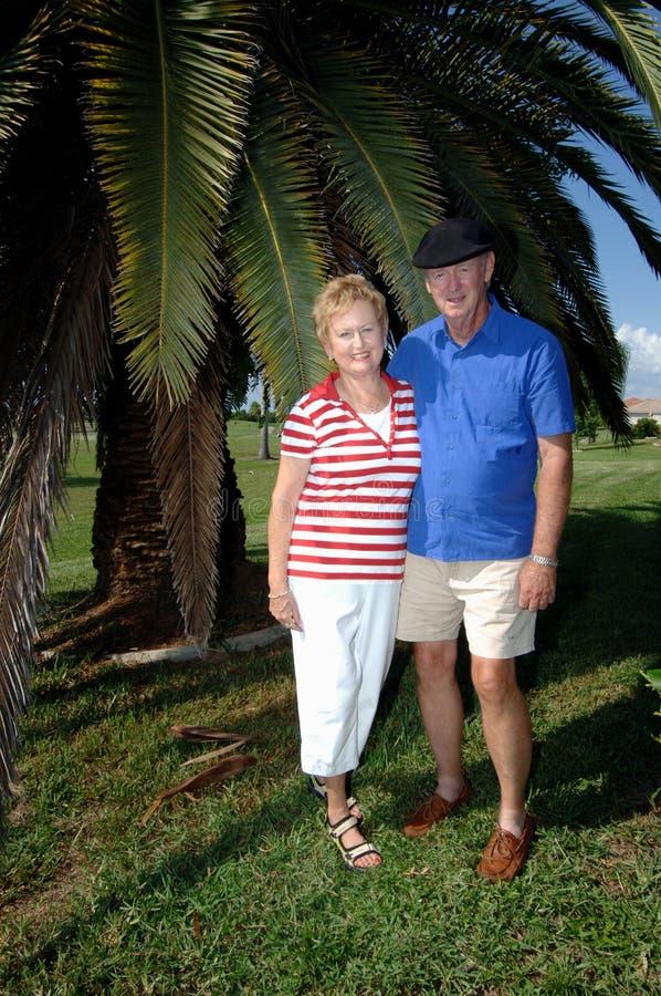 Download Senior couple portrait stock photo. Image of outdoors - 3032794