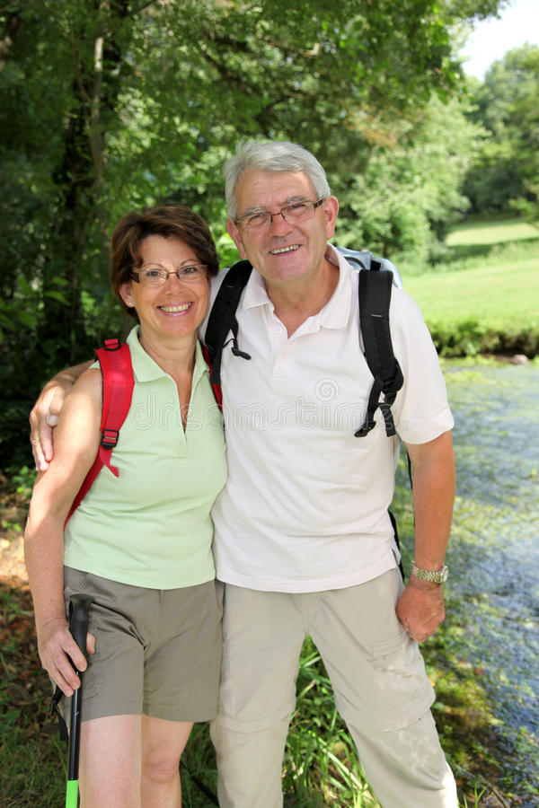 Download Senior Couple On A Rambling Day Stock Image - Image: 15453923