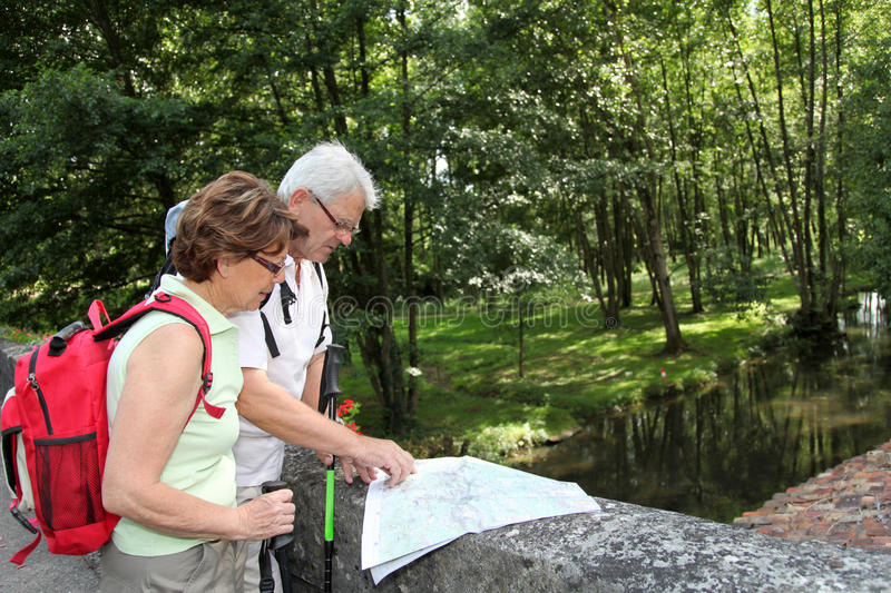 Download Senior Couple On A Rambling Day Stock Image - Image: 15453929