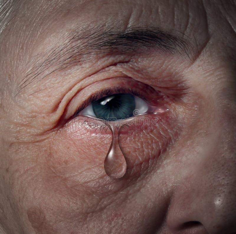 Free Senior Depression Royalty Free Stock Image - 30456946