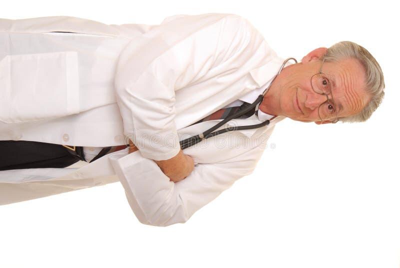 Senior Doctor 10 royalty free stock image