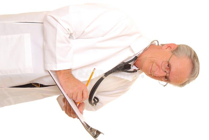 Senior Doctor 12 royalty free stock image