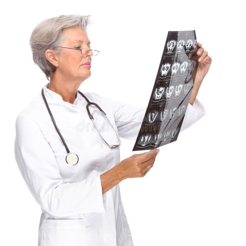Senior doctor stock images
