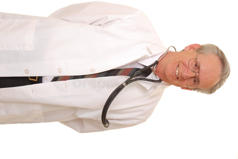 Senior Doctor 9 royalty free stock photo