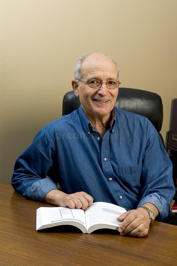 Senior executive royalty free stock photo